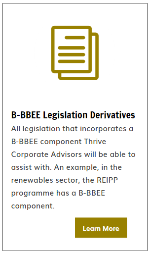 BBEE Legislation Derivatives